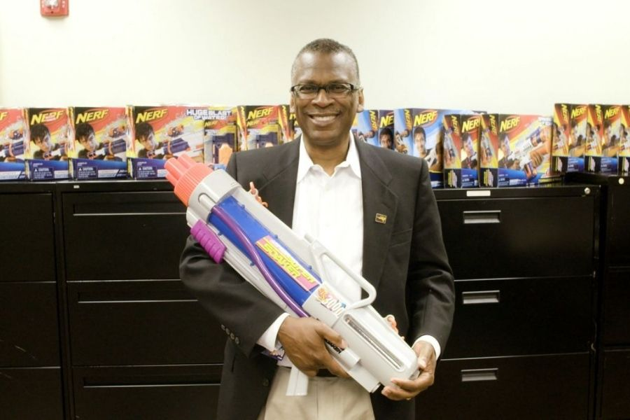 the inventor of the Super Soaker
