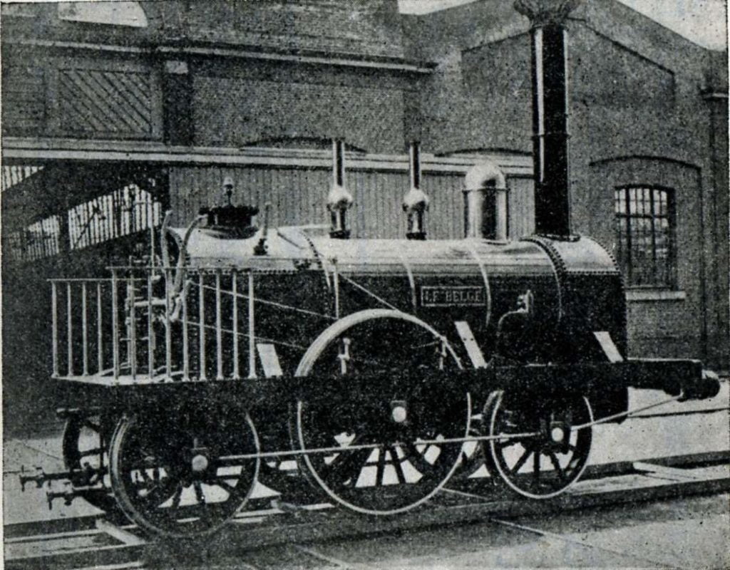 First Diesel-Locomotive