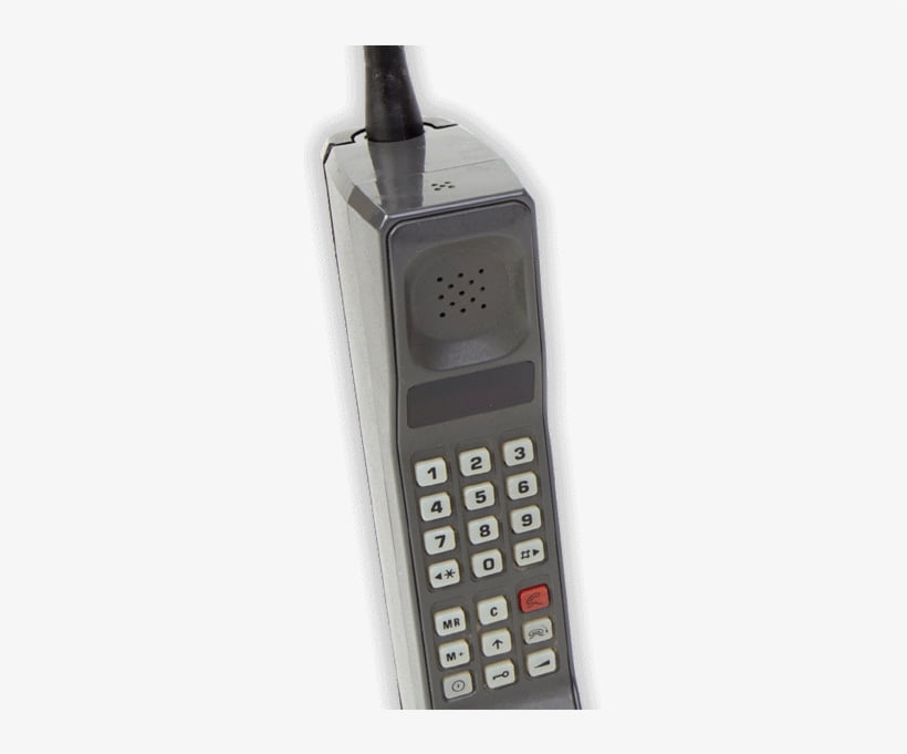 10)  The Mobile Phone - 1980s