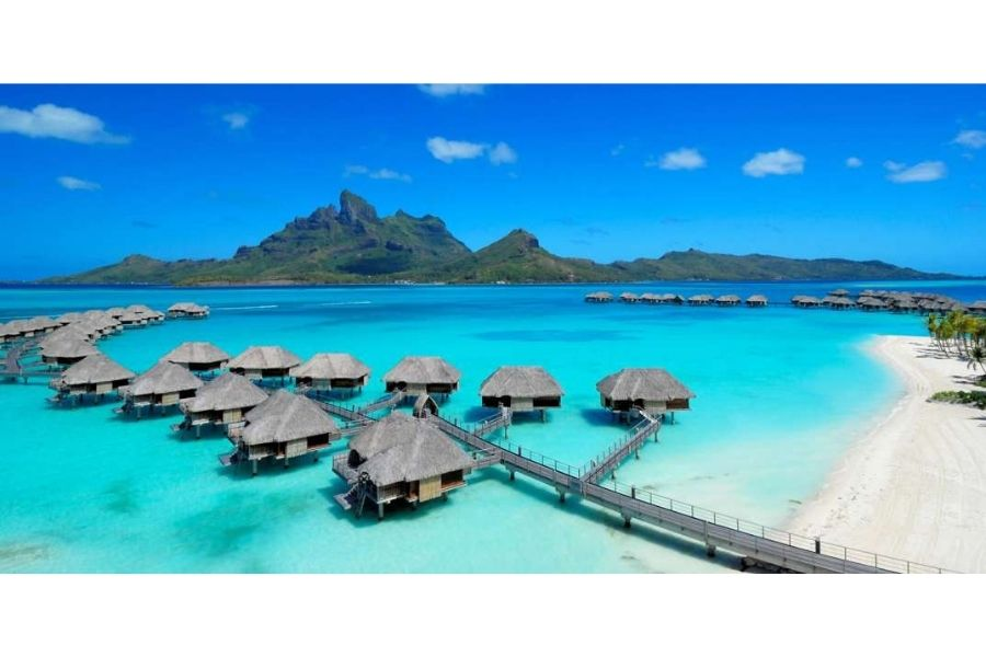 French Polynesia backpack trip