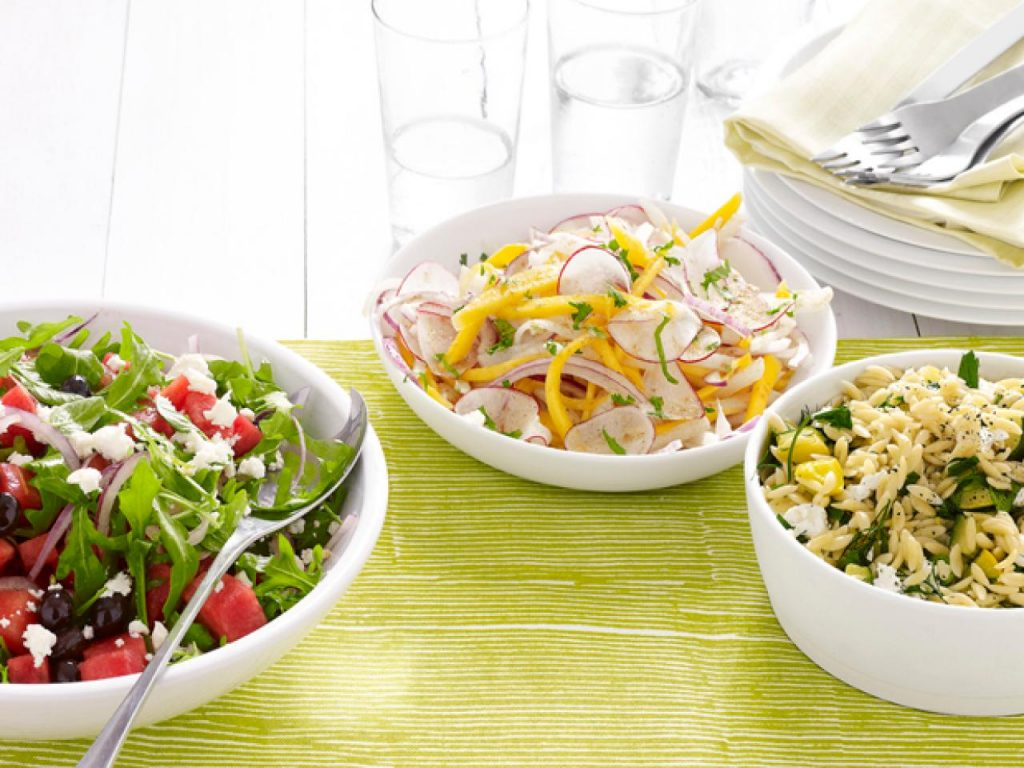 You can Always try Different Types of Salads!