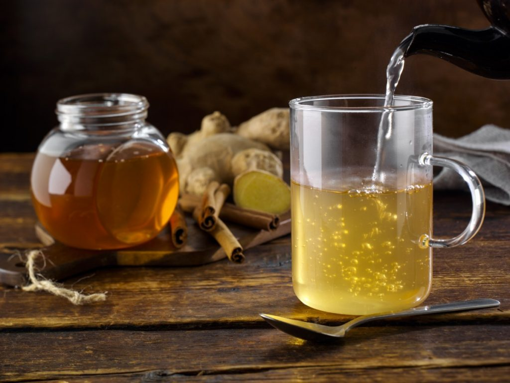 Have Warm Water with Honey & Lemon Juice