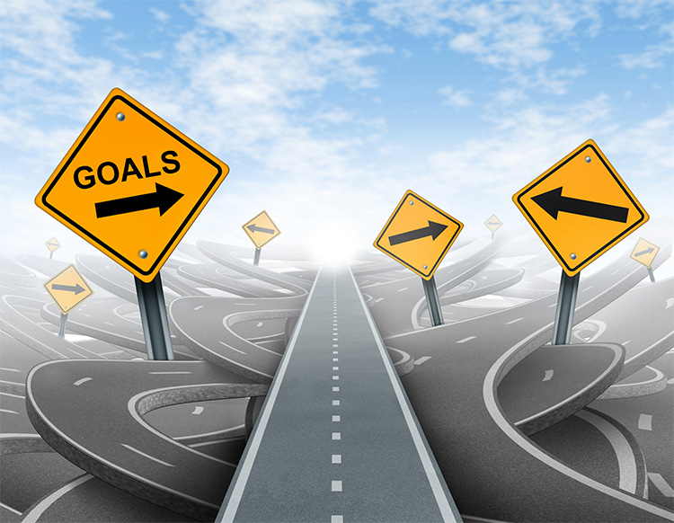 Be realistic with your goal