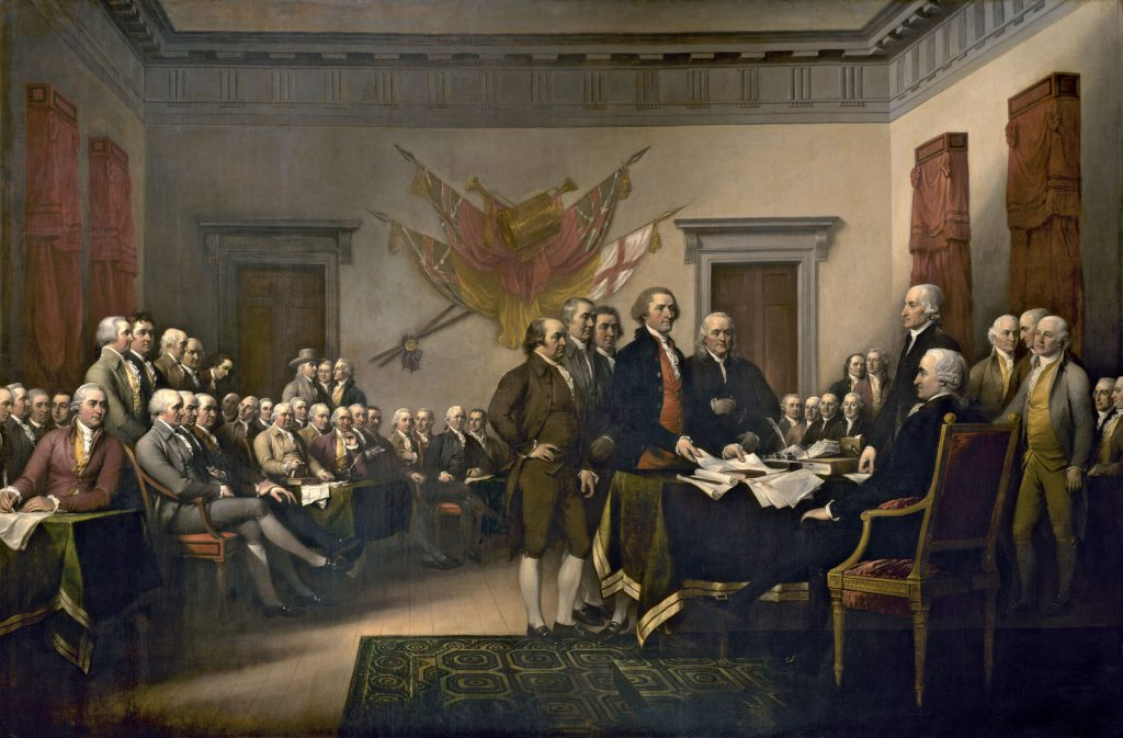 American Declaration of Independence (1776)