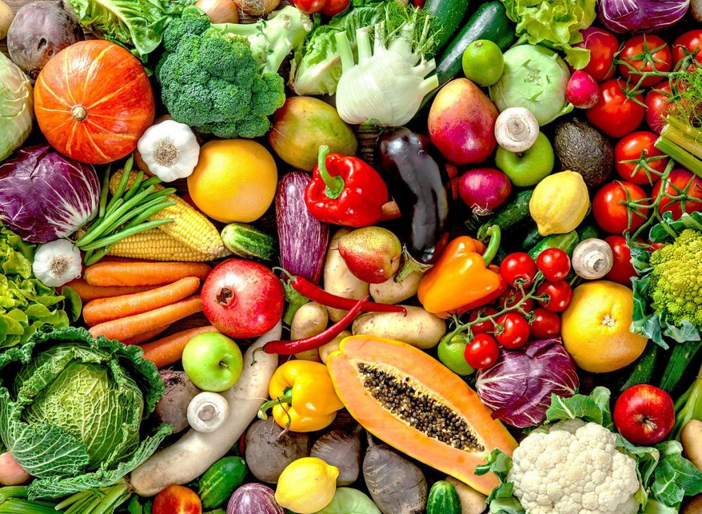 Eat More Raw Fruits And Vegetables