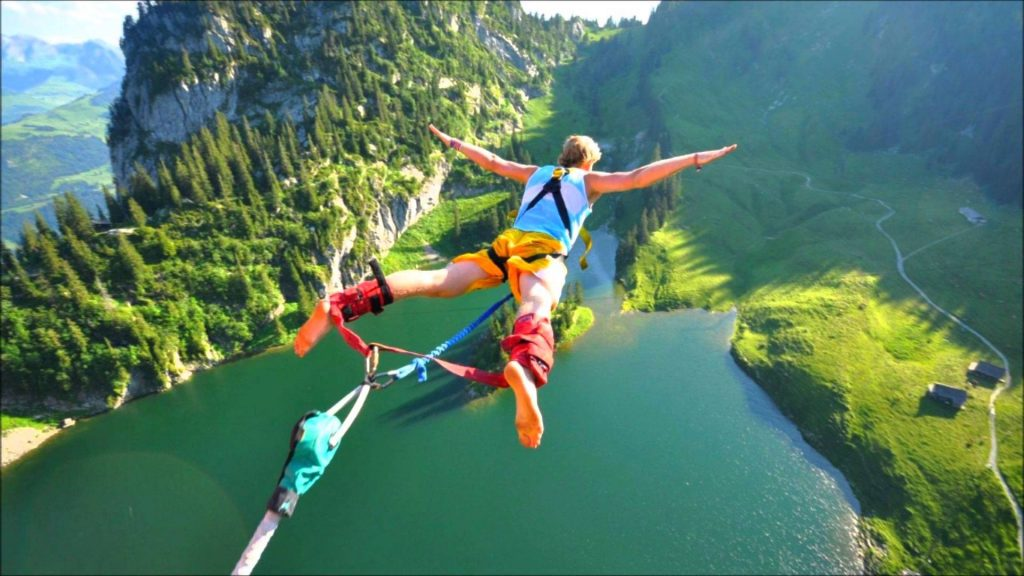 Go Bungee jumping