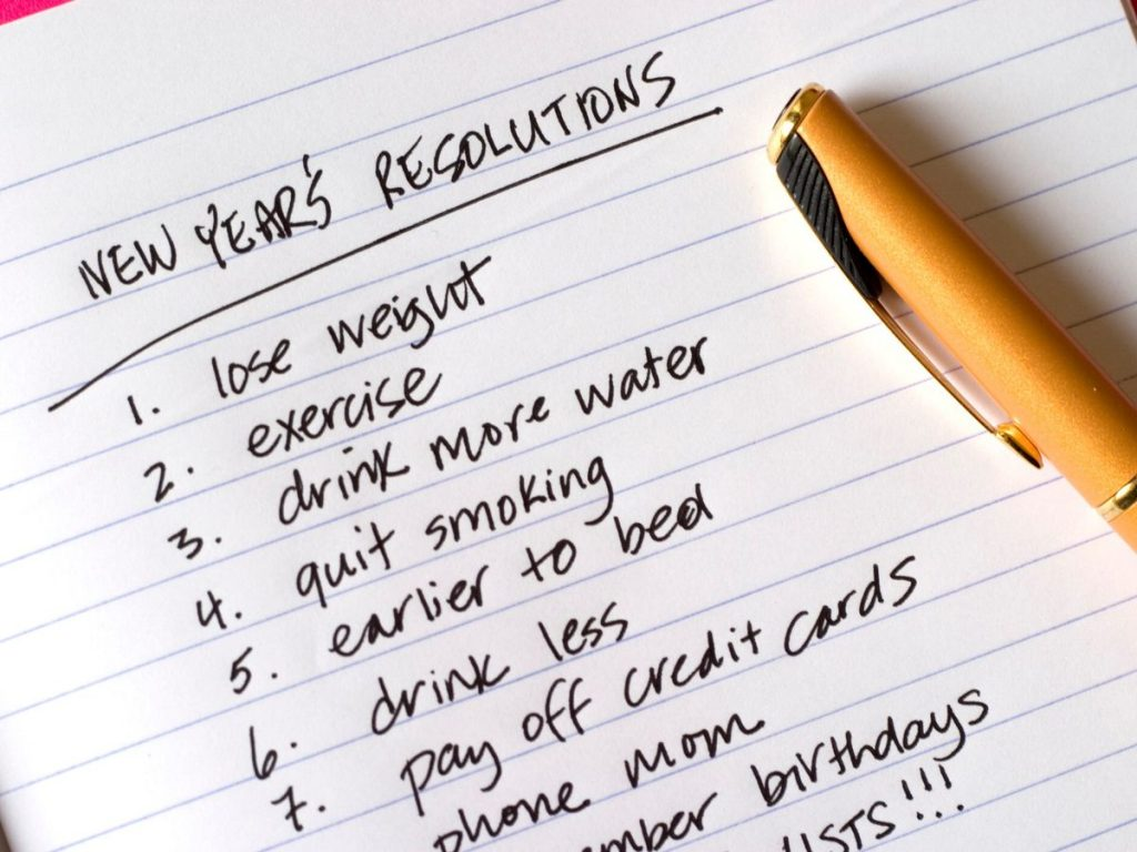 I will fulfil my New Year Resolutions!