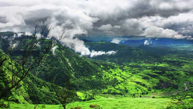 mountains along indian ghats