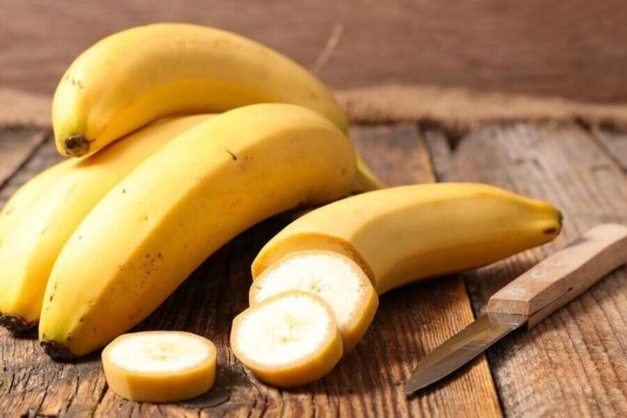 The composition of bananas