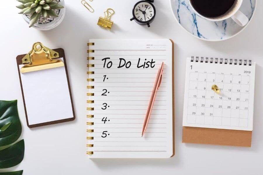 Make A To-do List Every Day