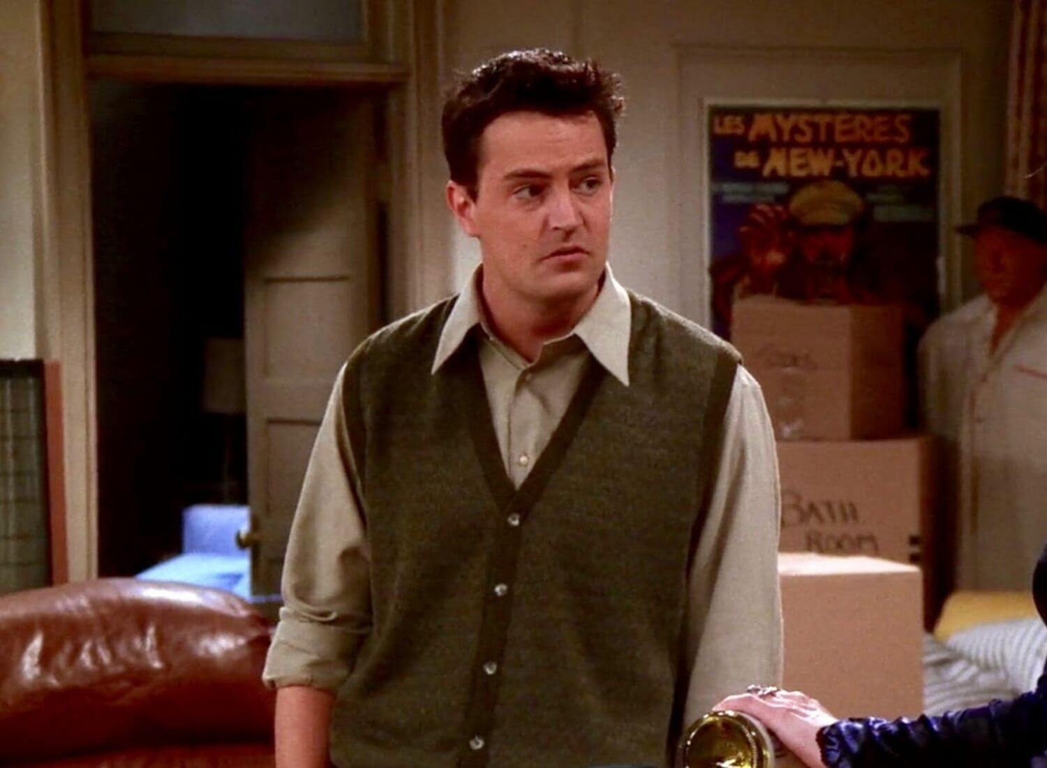 Times When Chandler Bing Was At His Sarcastic Best