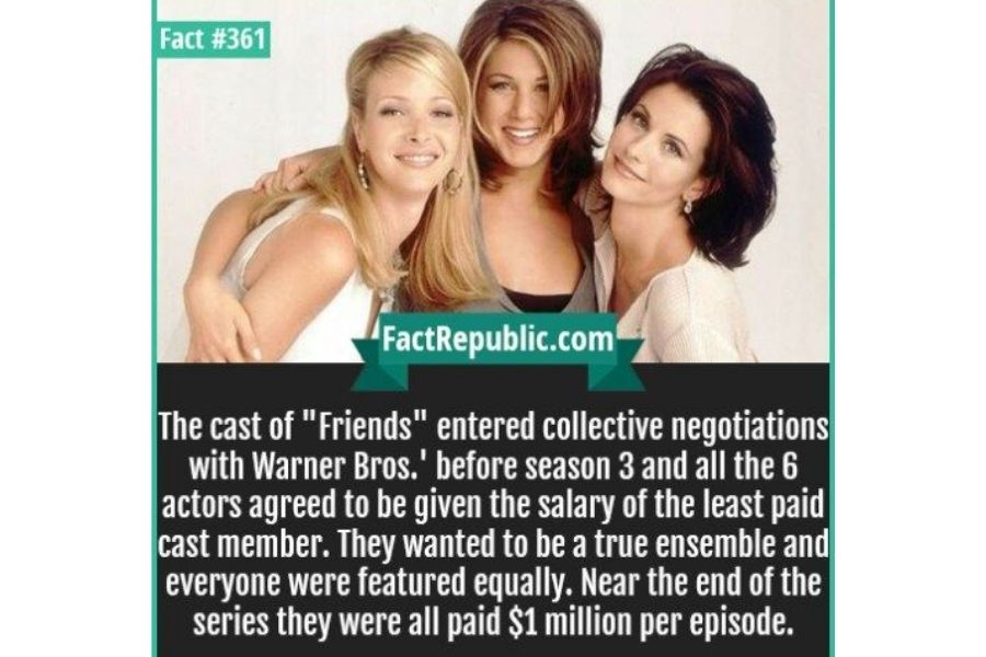 Cast's Starting Salary Was $22,500 Each
