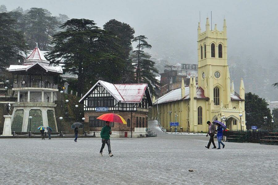 Shimla- India's summer reliever