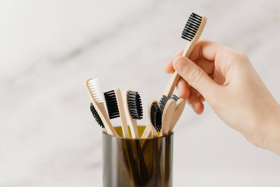 Try to use a bamboo toothbrush