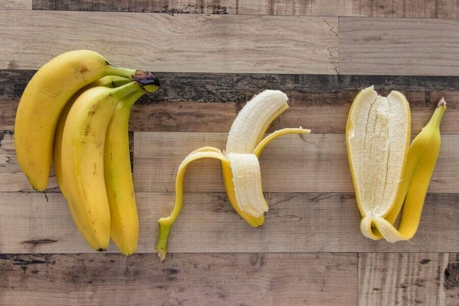 The elemental composition of bananas
