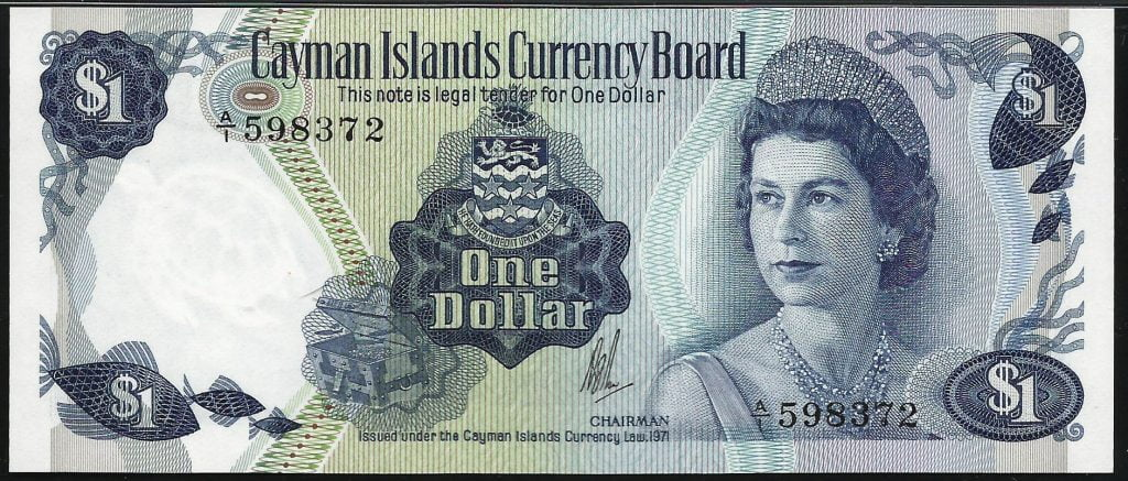 6.The Caymanian Dollar