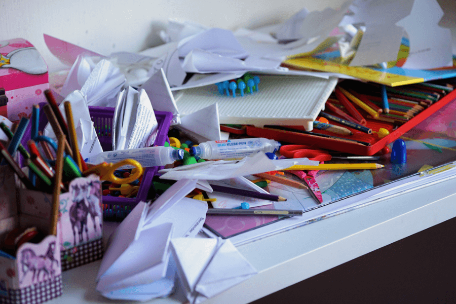 Disorganized. Things You Are Wasting Your Time With