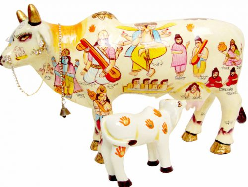 Every Indian worships cows