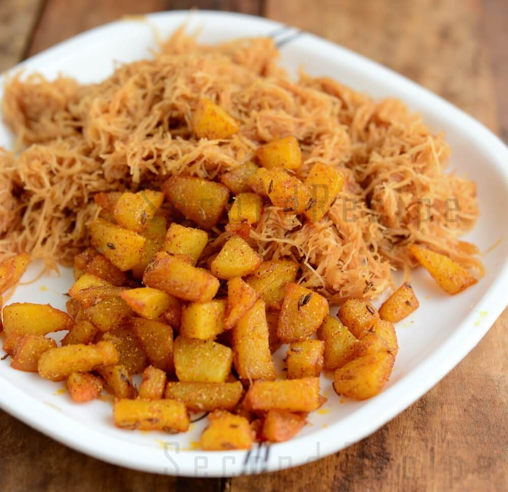 13. Saiyoon Patata (Vermicelli & Fried Potatoes)