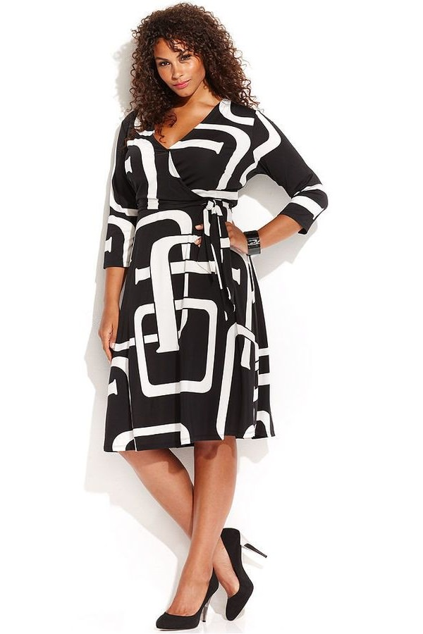 Wrap yourself in wrap-around dresses
